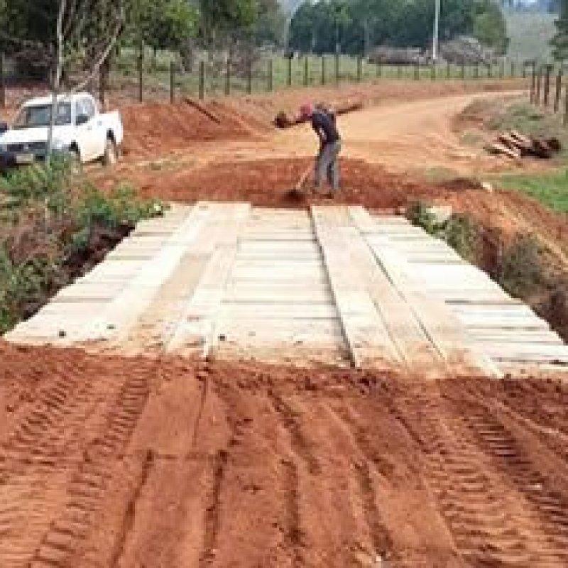 Secretaria de Obras constrói mais 4 pontes em Ouro Preto do Oeste