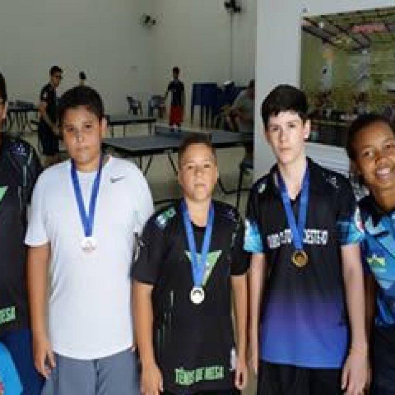 Ouro Preto: 1° Desafio de Tênis de Mesa reúne atletas de vários municípios