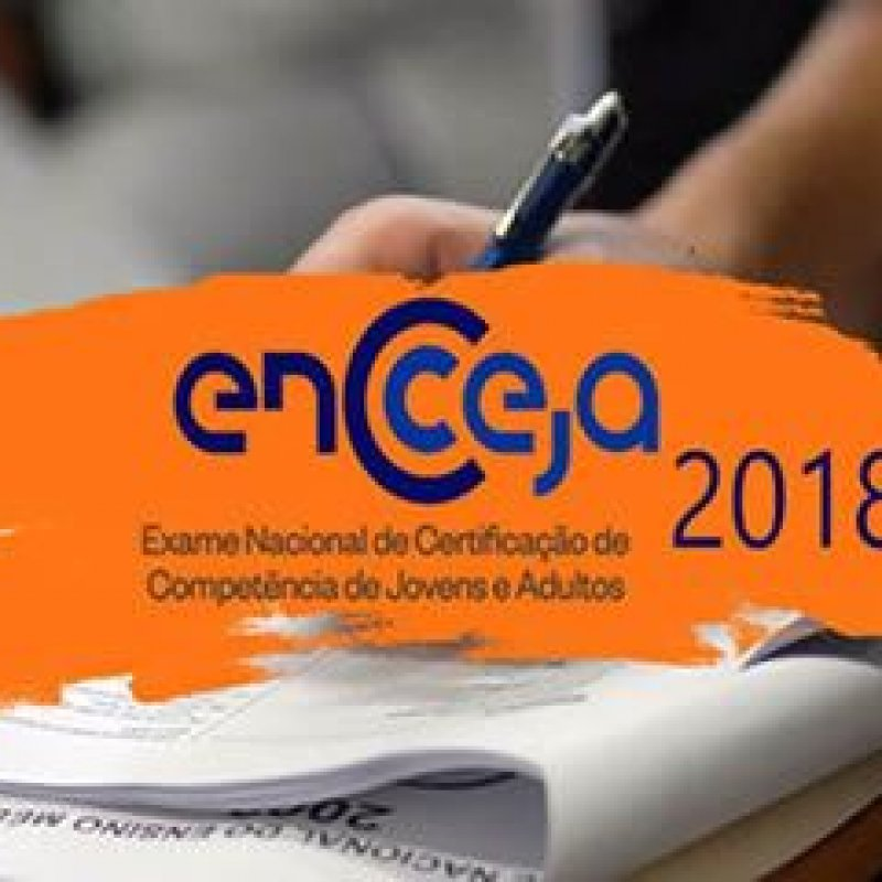 Provas do ENCCEJA 2018 acontecem no próximo domingo (5)