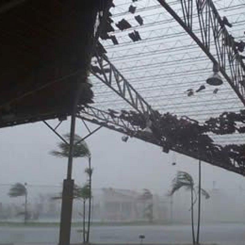 Defesa Civil alerta para possíveis tempestades em 12 municípios nesta terça-feira