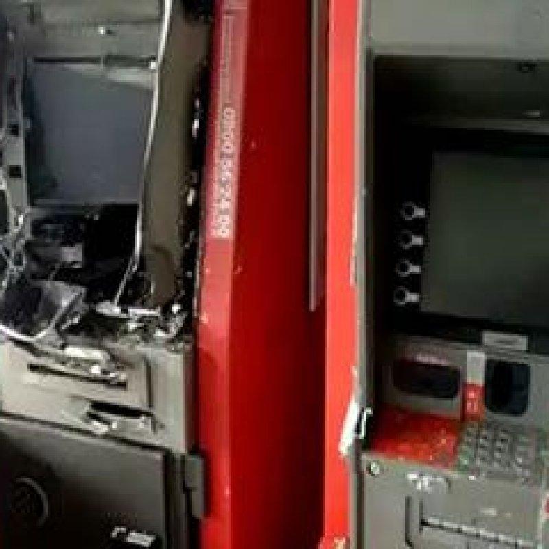 Porto Velho: bandidos arrombam caixas eletrônicos durante a madrugada