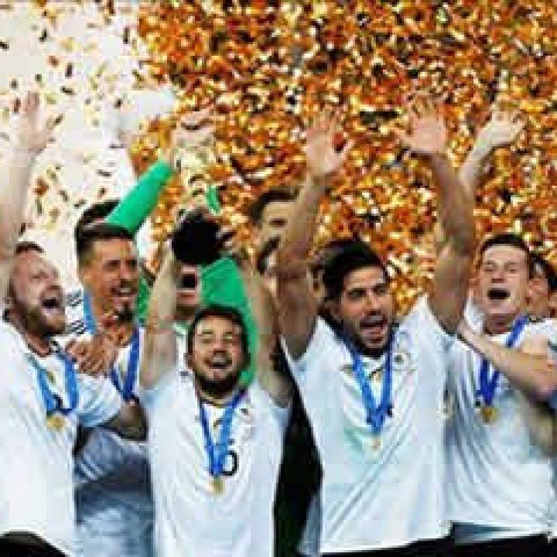 Alemanha bate Chile e vence Copa das Confederações