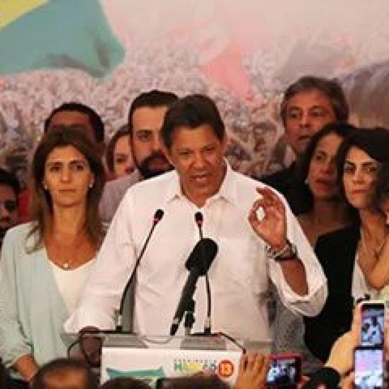 PT pede doações para encerrar contas da campanha de Haddad