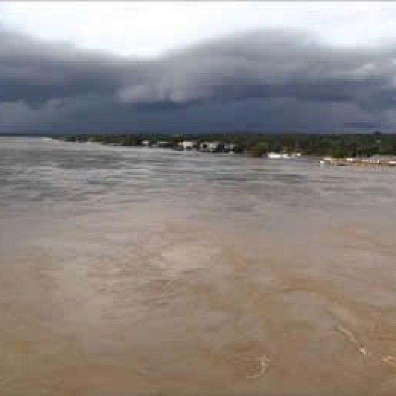 Serviço Geológico do Brasil acompanha cheia na bacia do Rio Madeira