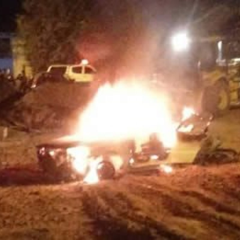 Veículo do Conselho Tutelar pega fogo em garagem da Prefeitura em Tarilândia