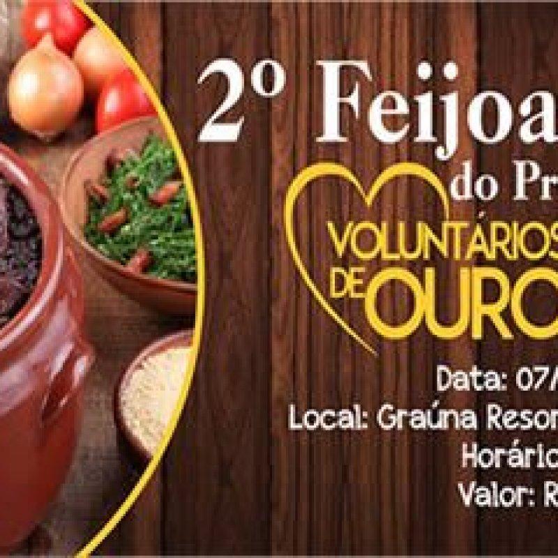 Ouro Preto: Projeto Voluntários de Ouro realiza 2ª Feijoada Beneficente