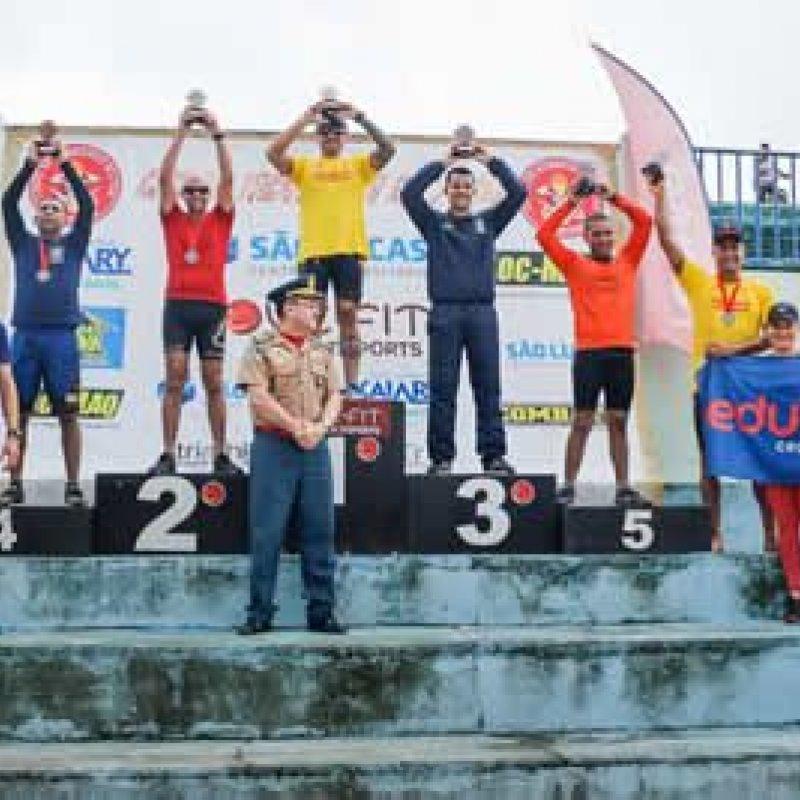 Corpo de Bombeiros realiza o 3º Cross Triatlon do Fogo em Rondônia