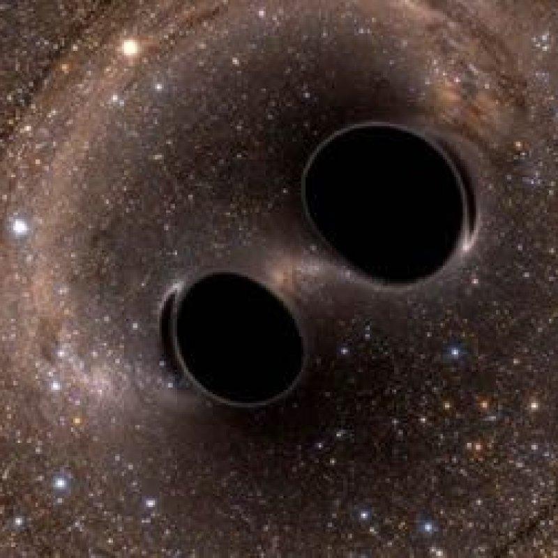 Cientistas detectam a maior colisão de buracos negros já observada