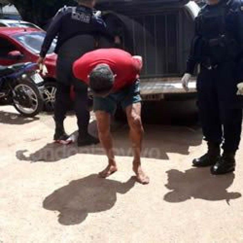 Policial militar é preso após tentar matar ex-mulher a facadas
