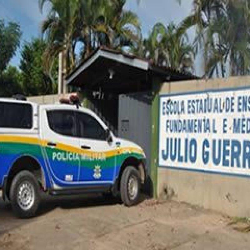 Policial Militar assume direção da Escola Júlio Guerra em Ji-Paraná