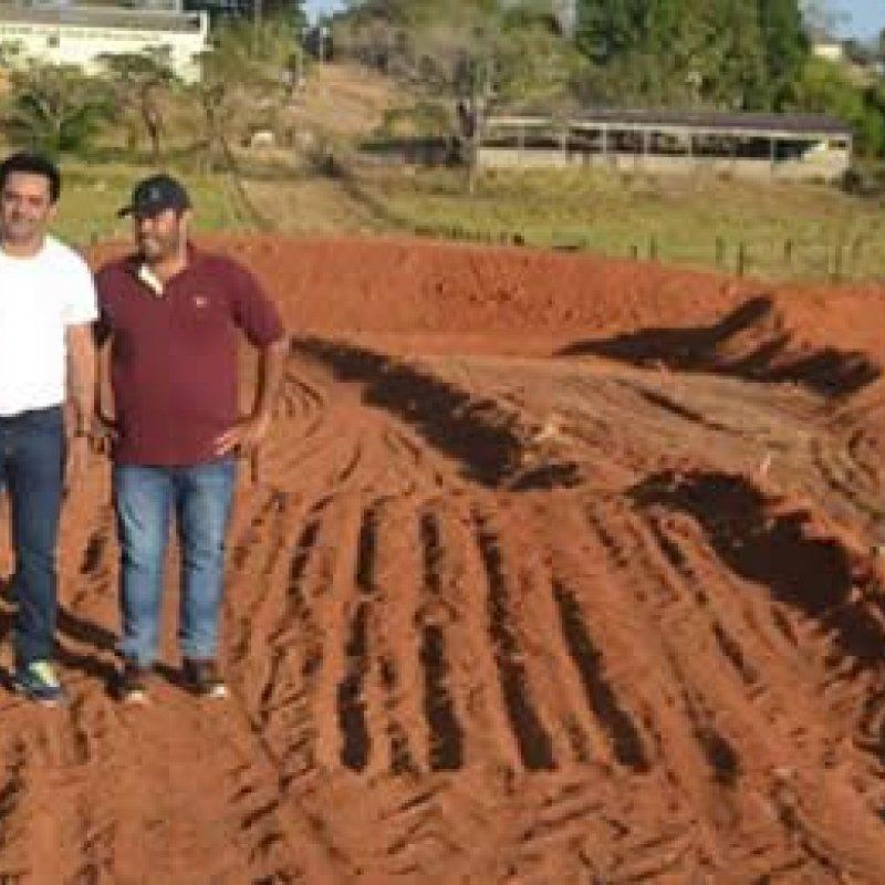 Pista oficial de Motocross é construída em Ouro Preto do Oeste