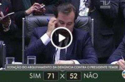 Veja como votaram dos deputados do estado de Rondônia