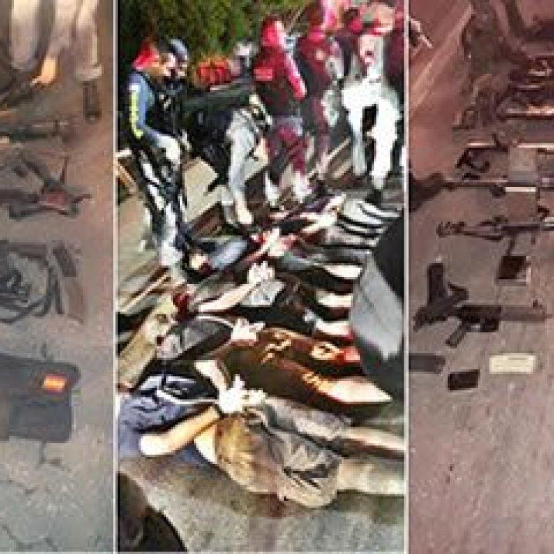 Maranhão: veja fotos e vídeos da operação policial que matou e prendeu ladrões de banco