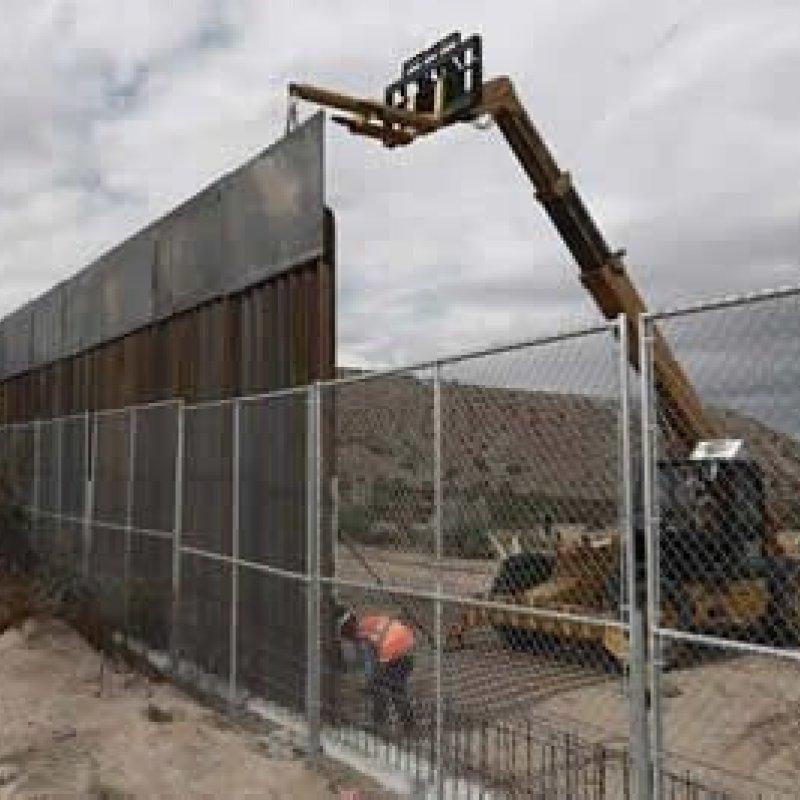 Casa Branca pede US$ 18 bilhões ao Congresso para construir muro com México