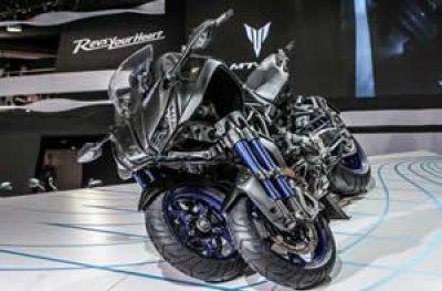 Yamaha lança moto de 3 rodas, a Niken, e mostra protótipo de Ténére 700