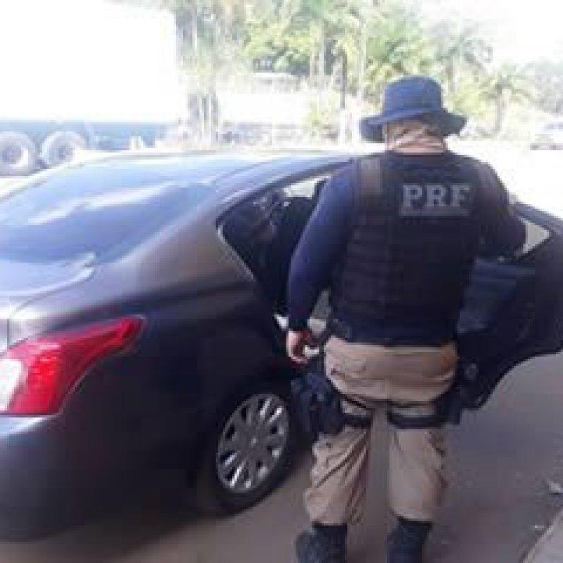 Em Ji-Paraná, Polícia Rodoviária Federal recupera carro clonado