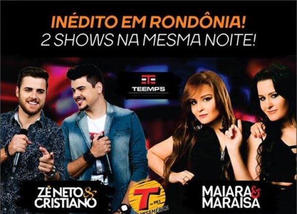 Zé Neto & Cristiano e Maiara & Maraisa