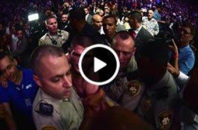 Veja os melhores ângulos da briga generalizada do UFC 229