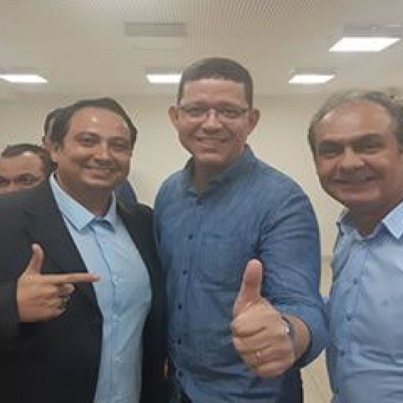 Governador eleito Marcos Rocha recebe empresário Marcão Sucão e reafirma unidade do PSL