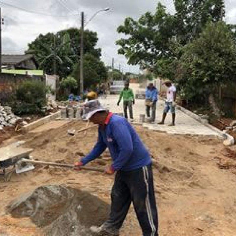 Bloqueteamento de emendas do deputado Marcelino Tenório avança por ruas de Ouro Preto