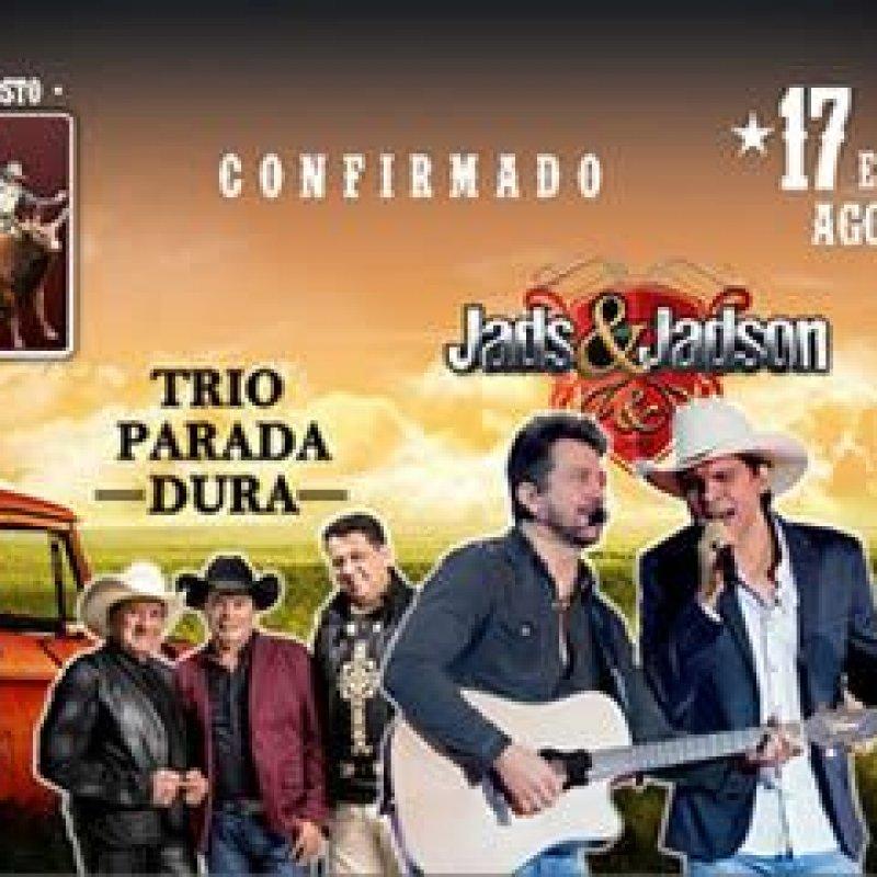 Ouro Preto: Trio Parada Dura e Jads&Jadson estão confirmados na Expo Show Norte 2018