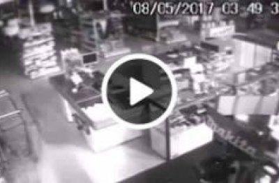 Câmeras flagram assaltantes explodindo caixas eletrônicos em OPO