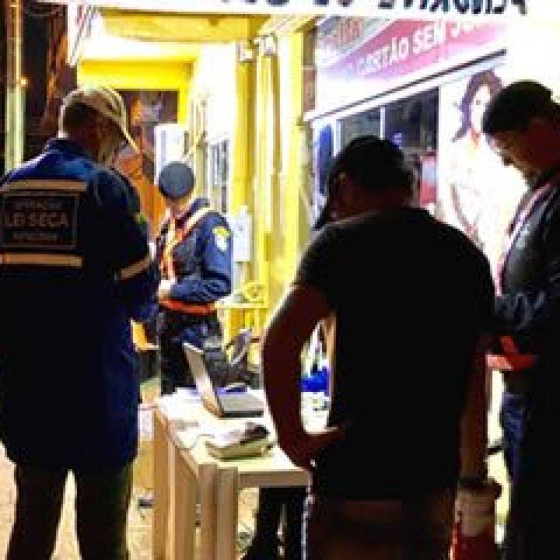 Ouro Preto: blitz da Lei Seca flagra 28 sob influência de álcool, neste final de semana