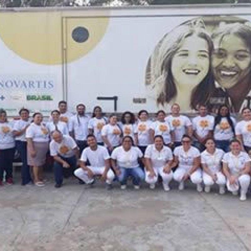 Carreta do Projeto Roda Hans realiza atendimentos de diagnóstico em Ouro Preto