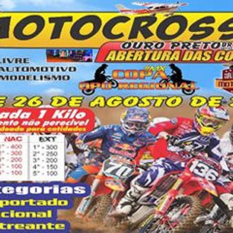 Ouro Preto do Oeste sediará evento de motocross nos dias 25 e 26 de agosto