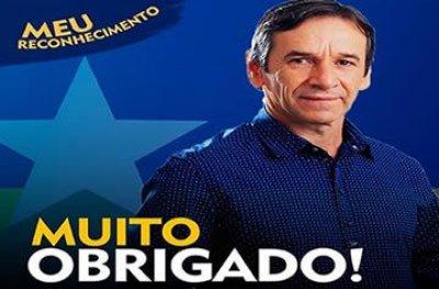 Deputado Marcelino Tenório agradece pela votação expressiva
