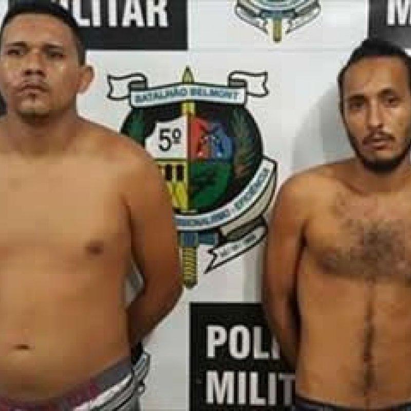 Presos suspeitos de atirarem contra uma policial durante assalto em posto de combustível