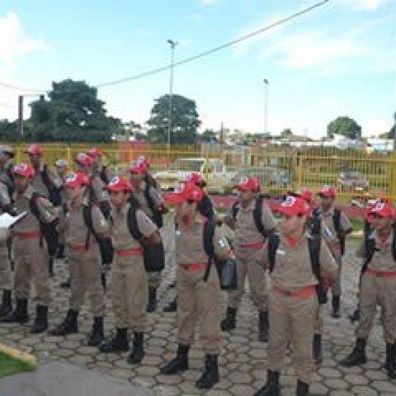 Primeira Marcha Bombeiro Mirim é realizada em Ouro Preto do Oeste