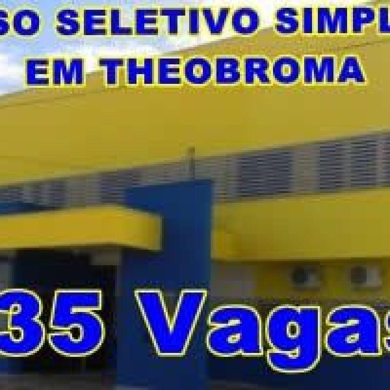 Prefeitura de Theobroma abre processo seletivo simplificado com 35 vagas
