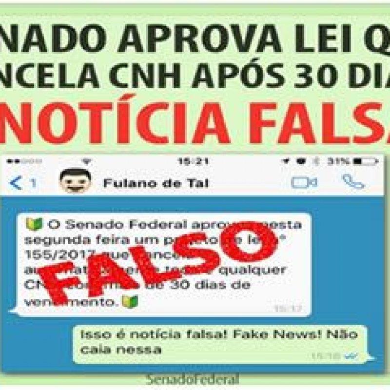 CNH vencida há mais de 30 dias não será cancelada