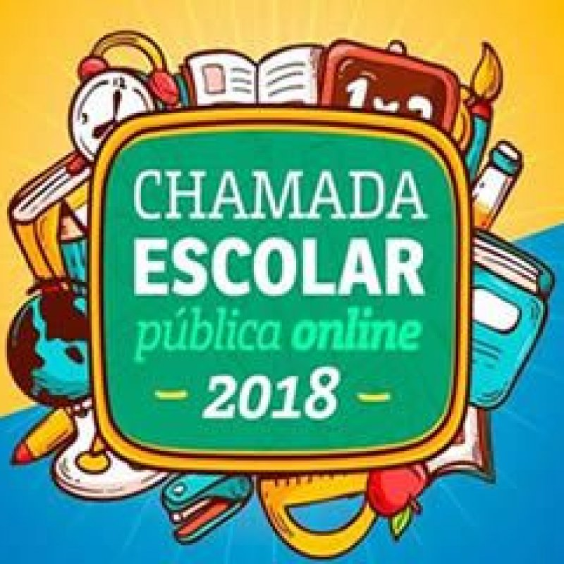 Seduc divulga data para chamada escolar pública online/2018