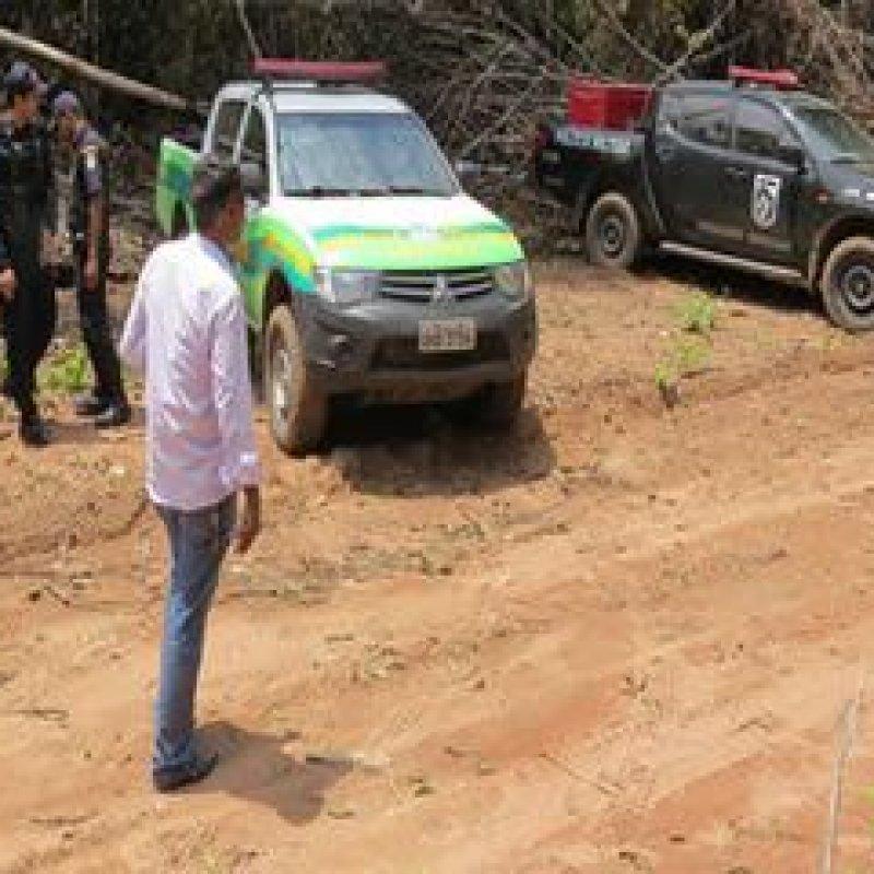 Polícia faz operação para combater crimes ambientais em Nova União