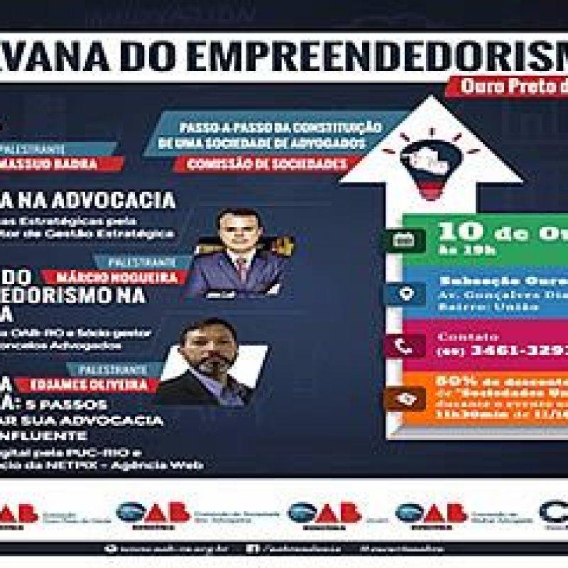 'Caravana do Empreendedorismo' chega a Subseção de Ouro Preto da OAB/RO nessa terça (10)