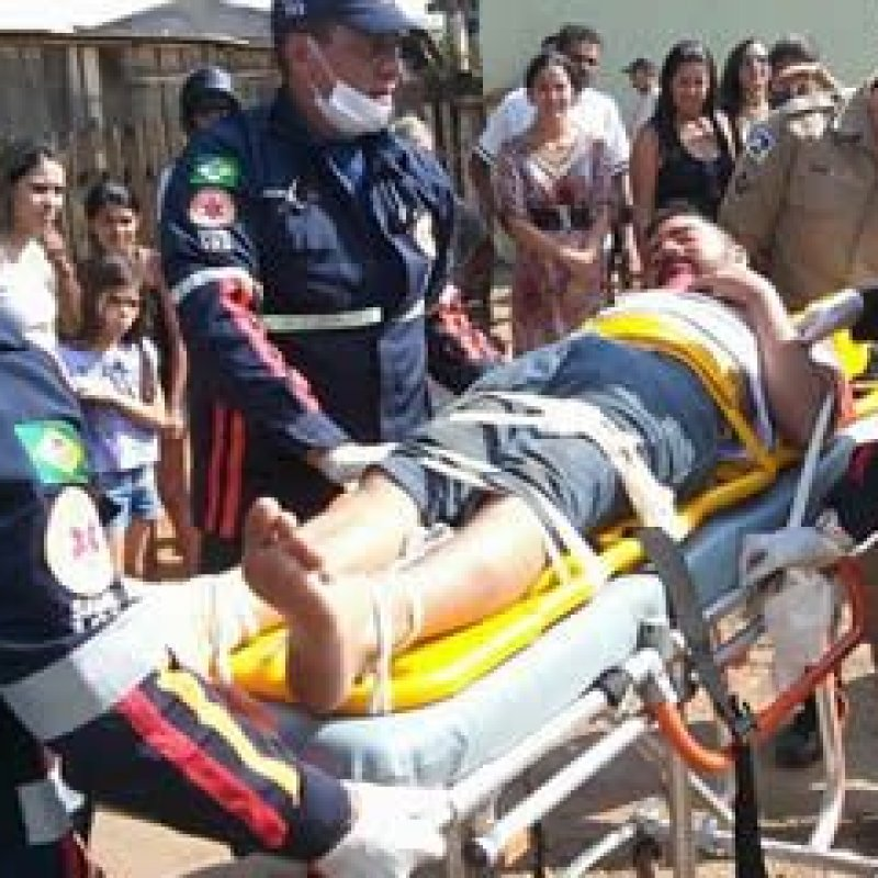 Ex-jaruense Pica-Pau, sofre grave acidente