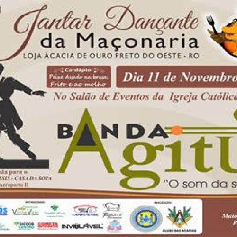 Loja Maçônica promove 5° Jantar Dançante neste sábado (11) em Ouro Preto