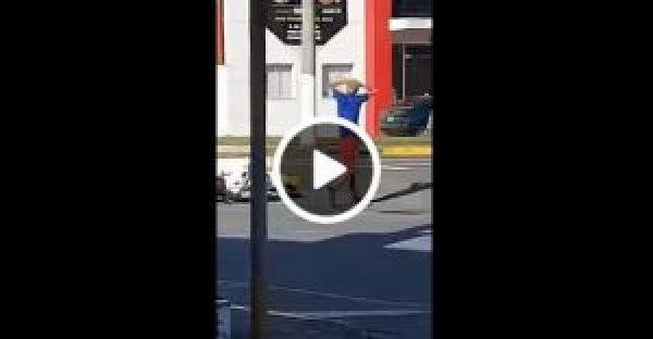 Rapaz furta moto e alarme dispara fazendo ele se render