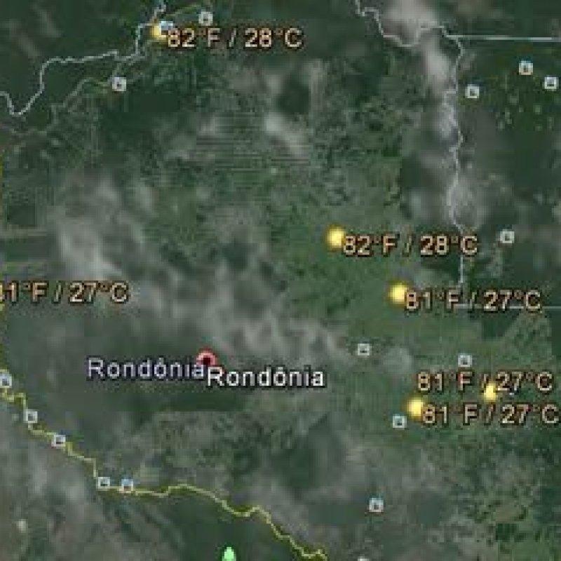 Temperaturas amenas continuam em Rondônia