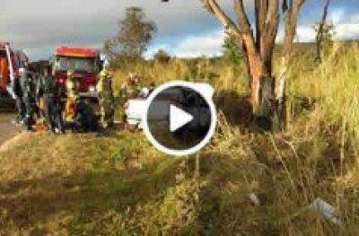 Acidente deixa duas pessoas mortas e três feridas na DF-180