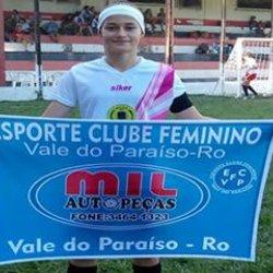 Atleta de Vale do Paraíso vai disputar o Paulistão Sub – 17 de futebol feminino