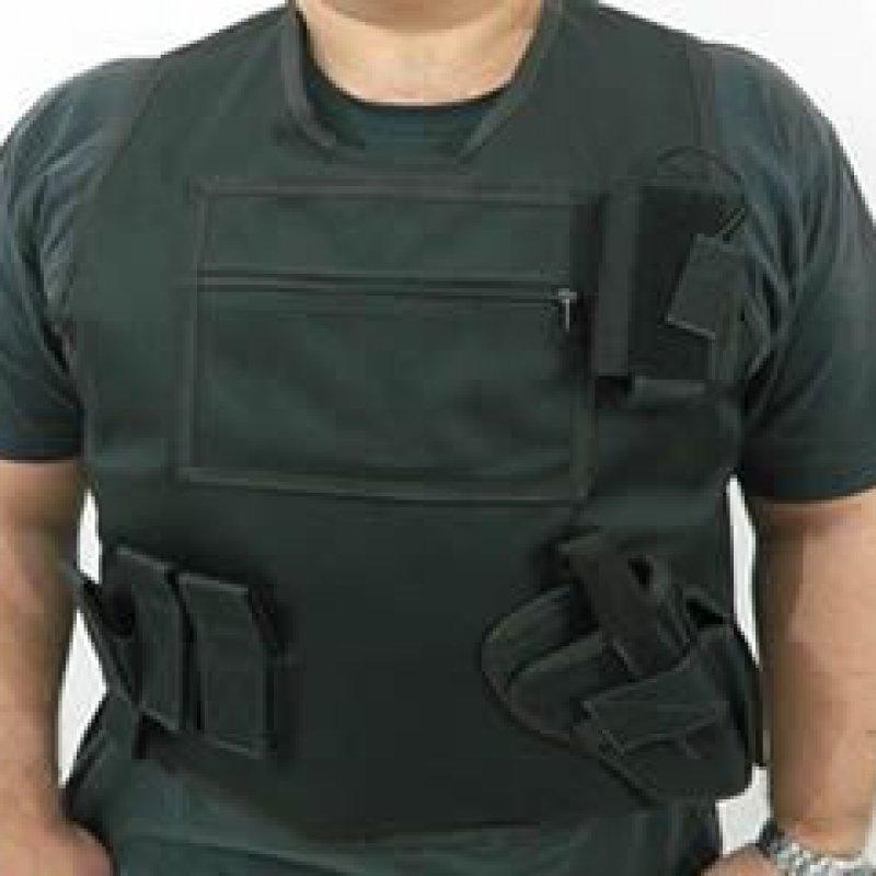 Qual é o nível de segurança possível com um colete à prova de balas?