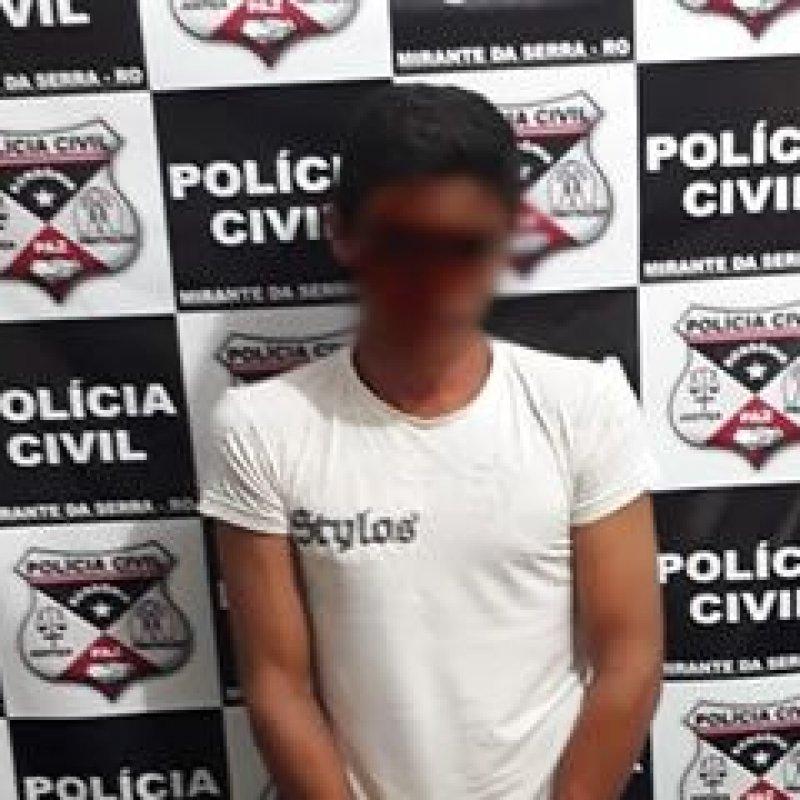 Polícia Civil prende suspeito de homicídio ocorrido em 2016 no centro de Mirante da Serra