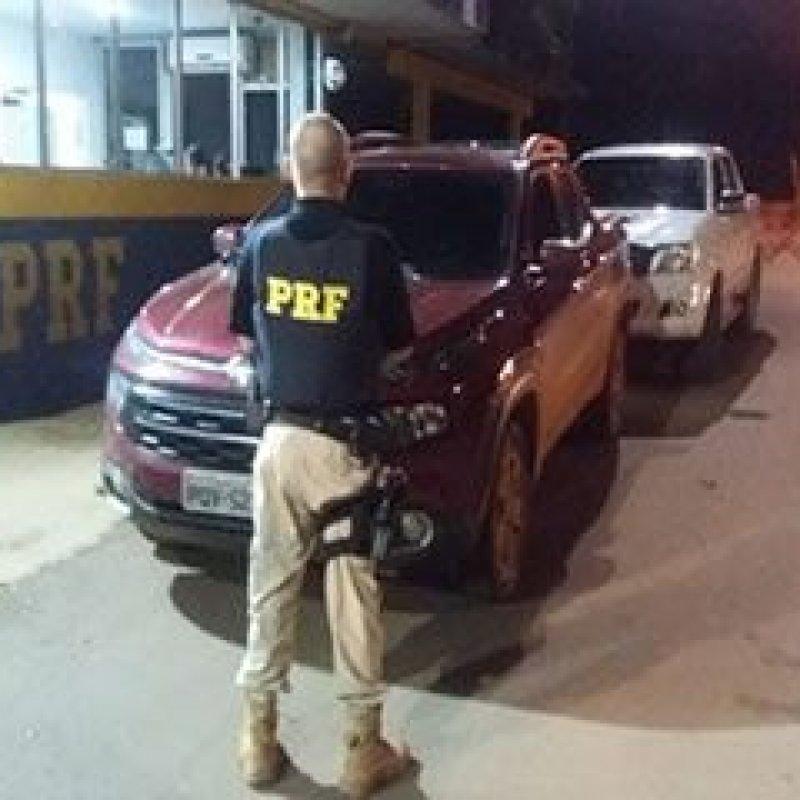 Ouro Preto: PRF recupera caminhonete clonada