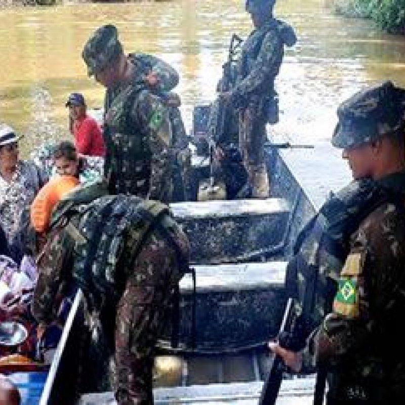 Exército realiza ´Operação Escudo` em Rondônia