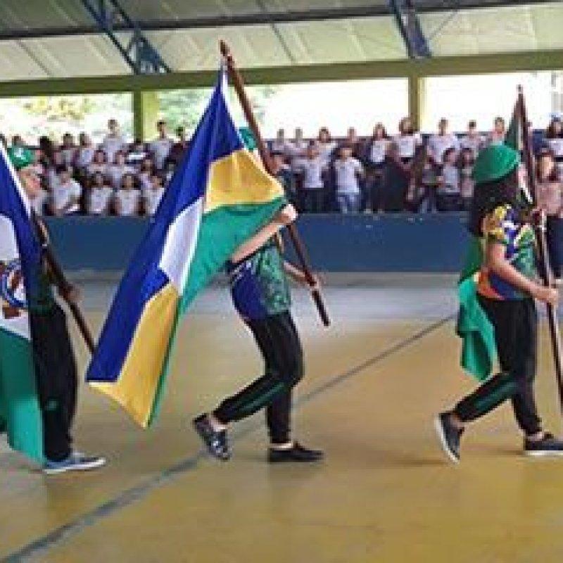 Ano letivo é aberto em Ouro Preto do Oeste com mensagem do governador Marcos Rocha