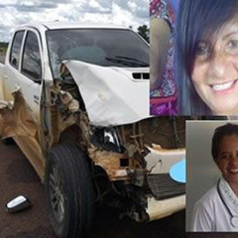 Duas mulheres morrem em grave acidente de motocicleta na BR 429