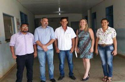 A pedido de Edis Farias, prefeito autoriza reforma do Posto de Saúde de Rondominas